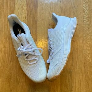 NWT Adidas Crazyflight Bounce White Sneakers Sz 10
